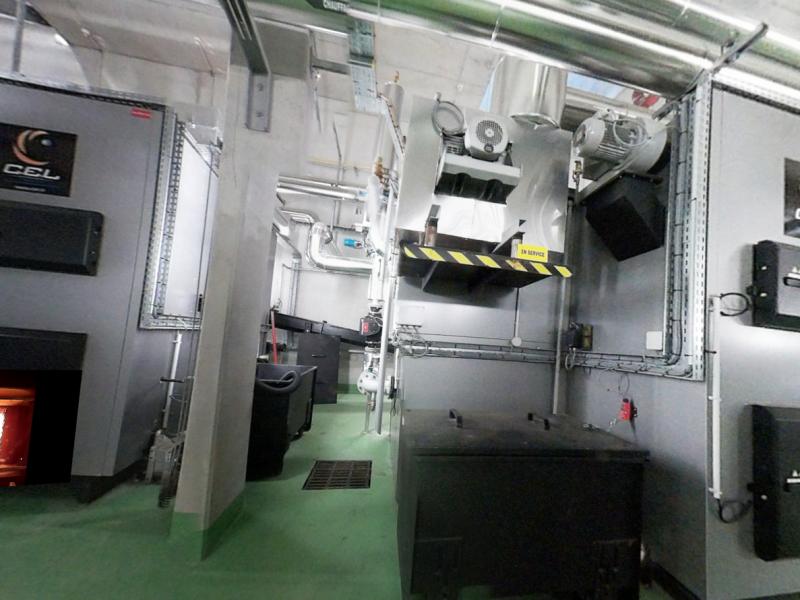 Chaufferie Biomasse FSM